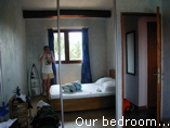 Our bedroom...